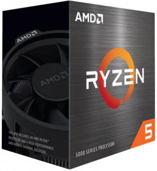 Процессор AMD Ryzen 5 5600X 3.7GHz/32MB (100-100000065BOX) sAM4 BOX (160804)