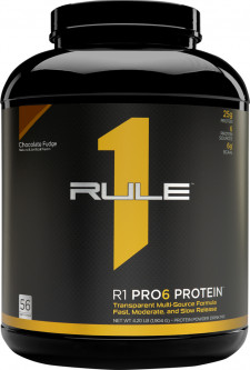 Протеин R1 (Rule One) Pro 6 Protein 1904 г Шоколад (837234108857)