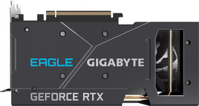 Gigabyte PCI-Ex GeForce RTX 3060 Eagle 12G 12 GB GDDR6 (192 bit) (15000) (2 х HDMI, 2 x DisplayPort) (GV-N3060EAGLE-12GD)