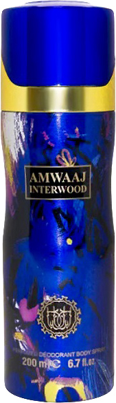 Дезодорант унисекс Fragrance World Amwaaj Interwood аналог Amouage Interlude 200 мл (ROZ6400104784) - изображение 1