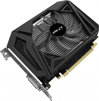 PNY PCI-Ex GeForce GTX 1650 Super Single Fan 4GB GDDR6 (128bit) (1725/12000) (HDMI, DisplayPort, DVI-D) (VCG16504SSFPPB)