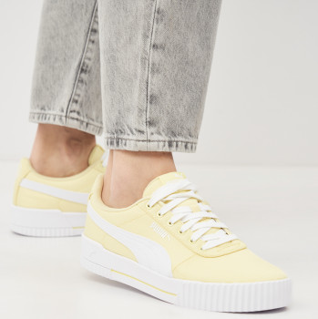 Кеди Puma Carina CV 36866905 Yellow Pear-White