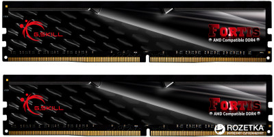 Оперативна пам'ять G.Skill DDR4-2133 32768MB PC4-17000 (Kit of 2x16384) Fortis (F4-2133C15D-32GFT)