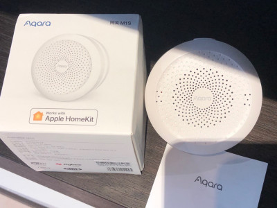 Шлюз для розумного будинку Aqara Hub M1S ZigBee 3.0 Gateway ZHWG15LM (Apple HomeKit, Google Assistant)