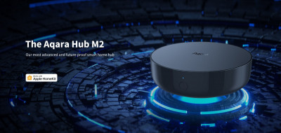 Шлюз для розумного будинку Aqara Hub M2 Gateway ZHWG12LM (Apple HomeKit, Google Assistant, Amazon Alexa)