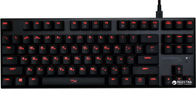 Клавіатура дротова HyperX Alloy FPS Pro Cherry MX Red USB (HX-KB4RD1-RU/R1)