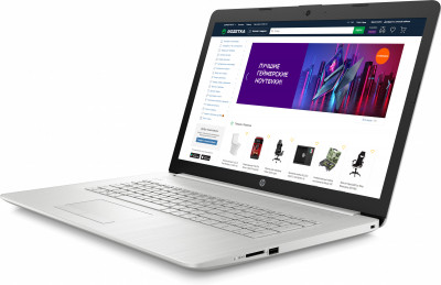 Ноутбук HP 17-by3032ur (25T11EA) Natural Silver