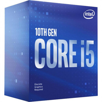 Процессор Intel Core i5 10600KF 4.1GHz (12MB, Comet Lake, 125W, S1200) Box (BX8070110600KF)