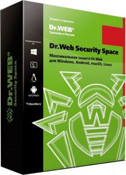 Антивирус Dr. Web Security Space Multi-Device (2 ПК/2 ГОДА) ESD (LHW-BK-24M-2-A3)