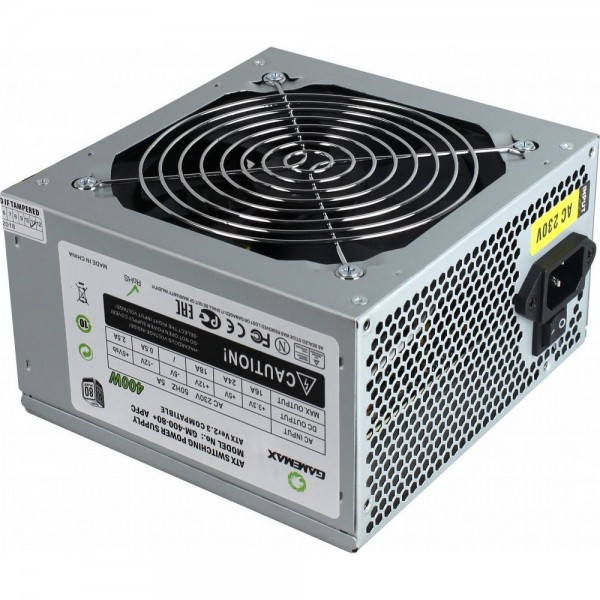 Блок питания GameMax 400W (GM-400W-80+APFC) (F00235574)
