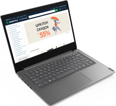 Ноутбук Lenovo V14 (82C6006ERA) Grey