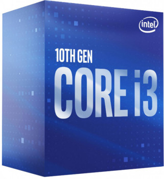 Процессор Intel Core i3-10100F 3.6GHz/6MB (BX8070110100F) s1200 BOX (160548)