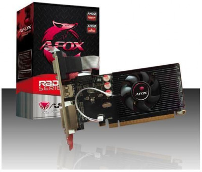 AFOX Radeon R5 230 2GB DDR3 64 Bit DVI-HDMI-VGA Low profile