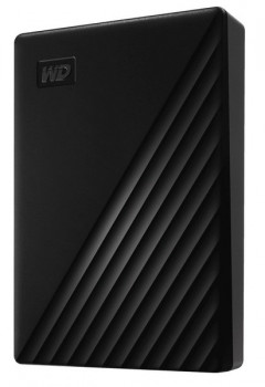 Зовнішній диск HDD External 2.5'' 5TB Western Digital My Passport Black USB 3.2 (WDBPKJ0050BBK-WESN)