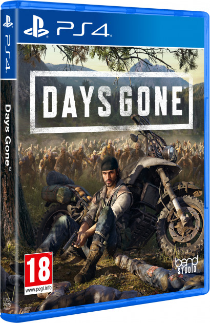 Игра Days Gone. Жизнь после для PS4 (Blu-ray диск, Russian version)
