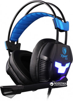 Sades SA-706S Xpower Plus Black/Blue (SA706S-B-BL)