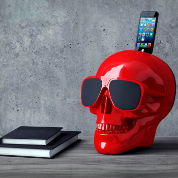 Акустика Jarre Technologies AeroSkull XS+ Red Glossy (ML80075)