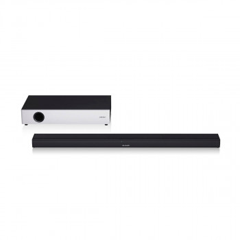 Саундбар SHARP 2.1 Ultra Slim Soundbar with Flat Wireless Subwoofer (HT-SBW160)
