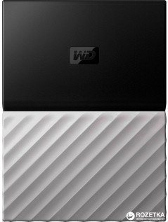 Жесткий диск Western Digital My Passport Ultra 1TB WDBTLG0010BGY-WESN 2.5 USB 3.0 External Black-Gray