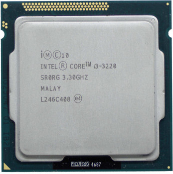 Процесор Intel Core i3-3220 3.3 GHz/3MB/5GT/s (SR0RG) s1155, tray