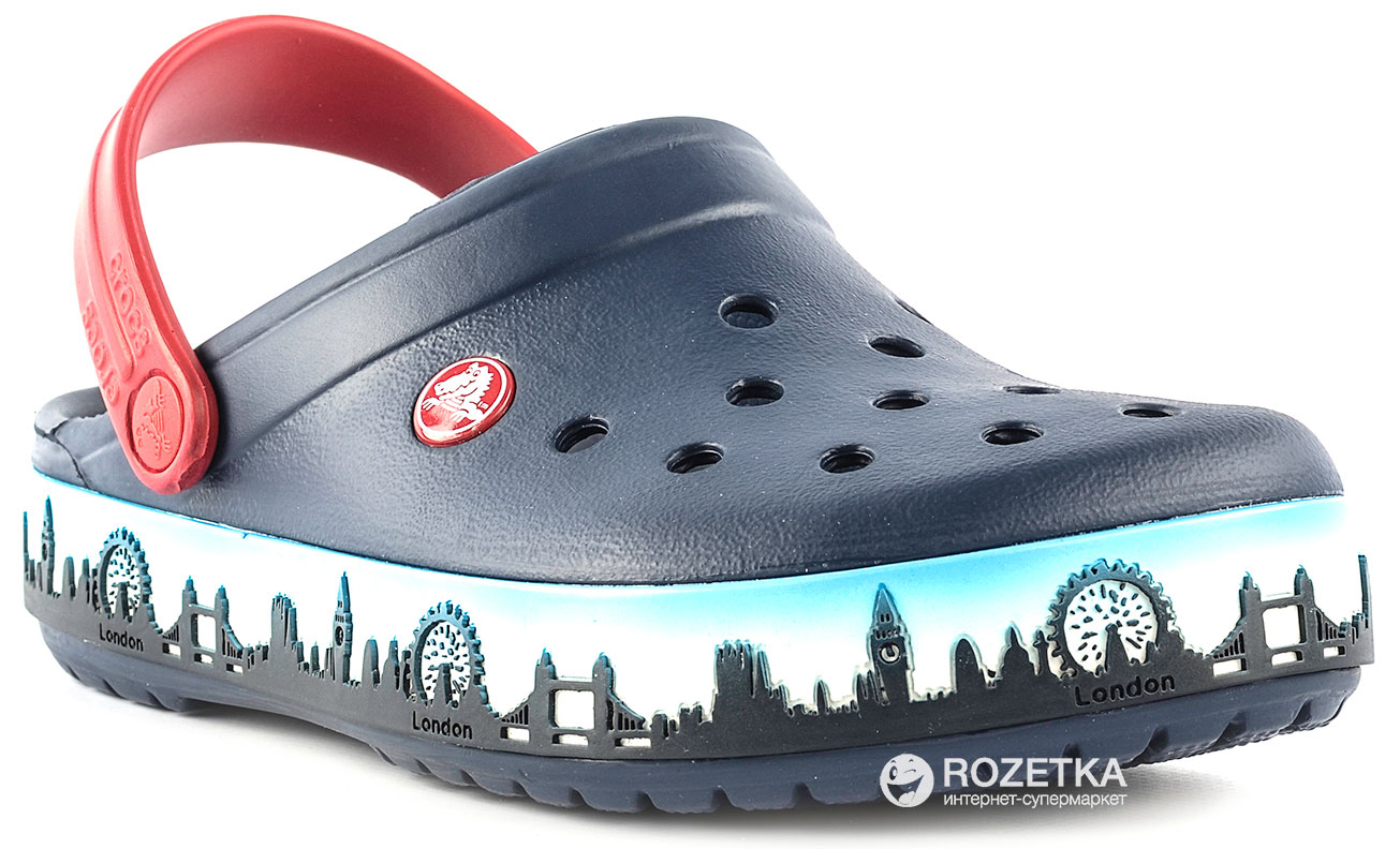 Сабо Crocs Crocband London Skyline Clog 16183-410-258 42-43 (M10 b0efe85e098ae