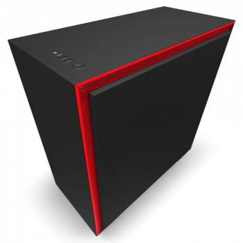 NZXT H710 Mid Tower Black/Red Chassis без БЖ (CA-H710B-BR)