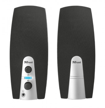 Колонки для ПК Trust ​MiLa 2.0 Speaker Set BLACK/WHITE