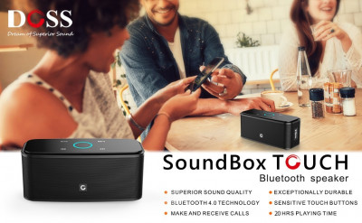 Bluetooth колонка DOSS SoundBox Touch Portable