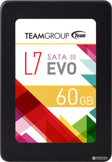 "Team L7 Evo 60GB 2.5"" SATAIII TLC (T253L7060GTC101)"