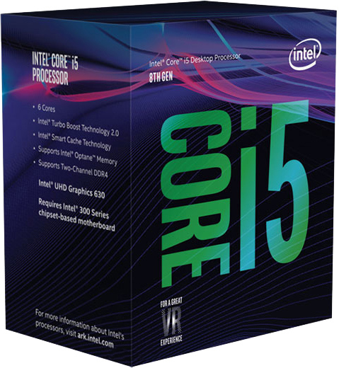 Купить Процессоры, Процессор Intel Core i5-8400 2.8GHz/8GT/s/9MB s1151 BOX