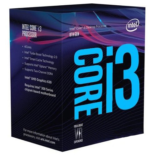 Купить Процессоры, Процессор Intel Core i3-8100 3.6GHz/8GT/s/6MB s1151 BOX