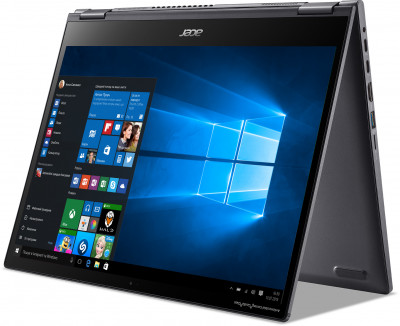 Ноутбук Acer Spin 5 SP513-55N-54Y4 (NX.A5PEU.00G) Steel Gray