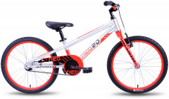 Велосипед Apollo Neo boys Brushed Alloy M 20 2018 White/Red (SKD-18-88)