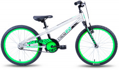 Велосипед Apollo Neo boys Brushed Alloy M 20 2018 White/Green (SKD-98-41)