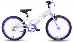 Велосипед Apollo Neo girls Brushed Alloy M 20 2018 White/Violet (SKD-72-05)