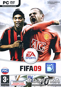 FIFA 09 (PC, DVD-box, русская версия)