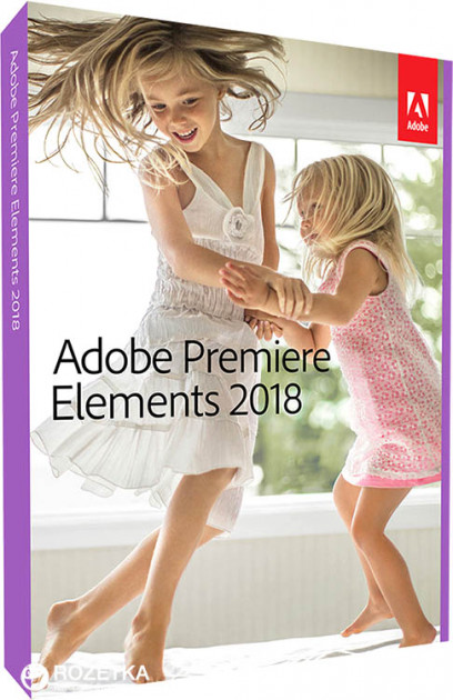 Adobe Premiere Elements 2018 International English Upgrade License 1 лицензия 1 ПК (65281972AD01A00)