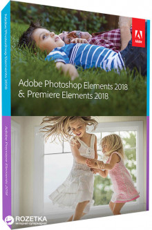 Adobe Photoshop Elements и Premiere Elements 2018 Russian AOO License 1 лицензия 1 ПК (65281838AD01A00)