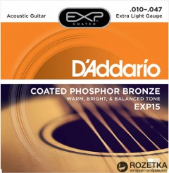 DAddario EXP15 Phosphor Bronze Extra Light (10-47)