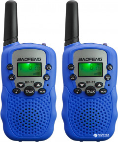 Рация Baofeng MiNi BF-T2 PMR446 Blue