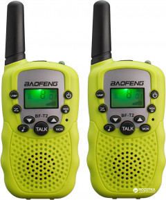 Рация Baofeng MiNi BF-T2 PMR446 Yellow