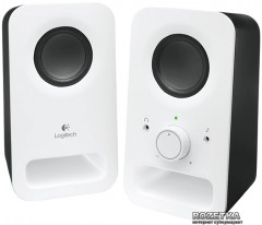 Акустическая система Logitech Multimedia Speakers Z150 Snow White (980-000815)