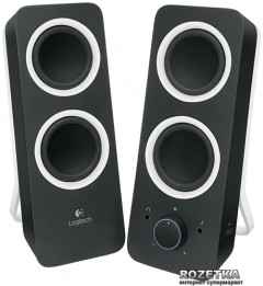 Акустическая система Logitech Multimedia Speaker Z200 Midnight Black (980-000810)