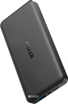 УМБ Anker PowerCore II Slim 10000 mAh Black (A1261H11)