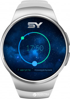 Смарт-часы SmartYou S1 Silver/White (SWS1SW)