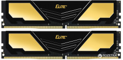 Оперативная память Team Elite Plus DDR4-2400 8192MB PC4-19200 (Kit of 2x4096) Black (TPD48G2400HC16DC01)