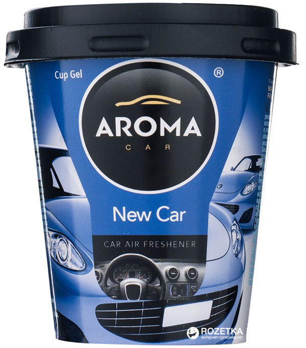 Ароматизатор Aroma Car Cup Gel New Car