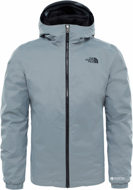 Куртка The North Face Men's Quest Insulated Jacket T0C302 XXL NRS Monument Grey Black Heather (190851394981)