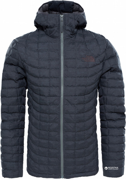 Куртка The North Face Men's Thermoball Hoodie T9382A L Q2T Tnf Black Fusebox Grey (190849810783)
