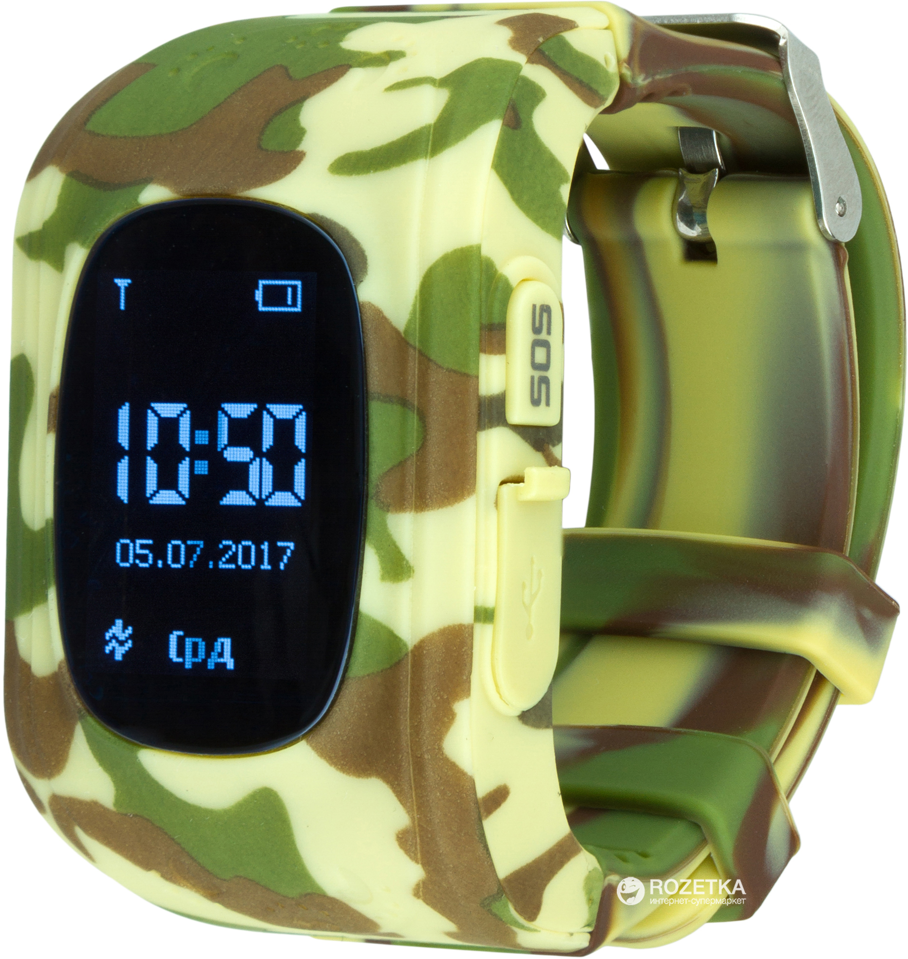 Смарт-часы Atrix Smart Watch iQ300 GPS Camo